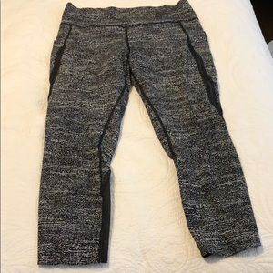 Lululemon Sz. 12 Fast & Free High-Rise Crop 23""